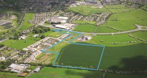 The Naas lands, which are guiding €7.5 million, are on the Southern Ring Road and extend to 15.8 acres