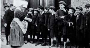 """Sisters of Charity feeding hungry boys during the revolt.""  Photograph: TW Murphy/willowdesign.com"