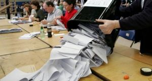 Smaller parties and Independents have gained four to 29 per cent. Photograph: The Irish Times