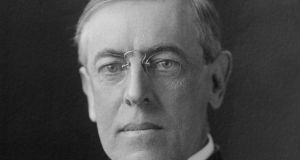 US president Woodrow Wilson: although still opposed to entering the war, he was under increasing pressure to strengthen the US militarily.