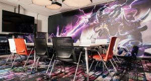 Futuristic workplaces: offices at Riot Games