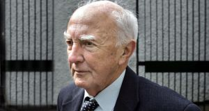 Former planning official George Redmond, who has died aged 92. File photograph: Matt Kavanagh