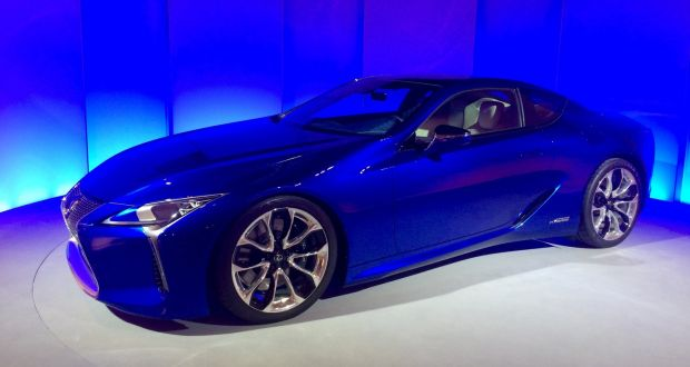 New Lexus Lc500h Premium Brand Returns To The Sports Car Market For First Time