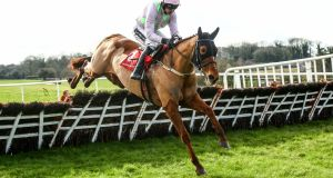 Annie Power won with ease on her return at Punchestown yesterday. Photograph: Inpho