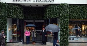 Dublin retailer Brown Thomas has been granted a full pub licence for its Grafton Street store. Photograph: Eric Luke/The Irish Times.