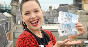 Imelda May is known for  her Dublin accent