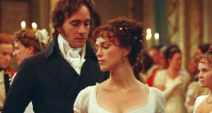 """What is going on in that silly brain?"" Matthew Macfadyen and Keira Knightley in the 2005 film version of Pride and Prejudice"