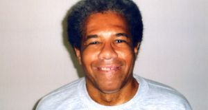Undated picture of Albert Woodfox.  Woodfox,  who spent a record 43 years in solitary confinement in a US prison. Photograph: Amnesty International/AFP/Getty Images