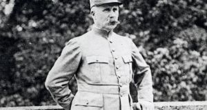 Marshal of France Philippe Pétain: brought in reinforcemements and strengthened defences to  halt German offensive