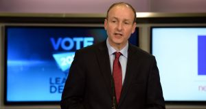 Fianna Fáil leader Micheál Martin: Has the highest satisfaction rating of any party leader. Photograph: Cyril Byrne/The Irish Times
