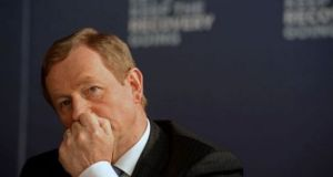 Enda Kenny's satisfaction rating is unchanged at 32%. Photograph: The Irish Times