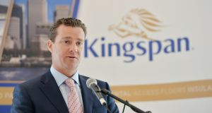 Kingspan chief executive Gene Murtagh said the  acquisition of  Joris Ide and Vicwest last year have performed ahead of the company's expectations. Photo: Alan Betson/The Irish Times