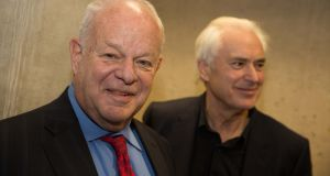 Prof Martin Seligman, left, and Prof Ian Robertson: According to Seligman: 'Human beings want much more in life than not to be miserable.'Professor Martin Seligman. Photograph: Paul Sharp/SHARPPIX
