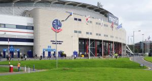 Bolton have been granted two weeks by the High Court in London to complete their club takeover after tax officials asked for the club to be wound up. Photograph: Clint Hughes/PA