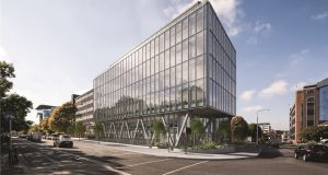 New €35 million eight-storey office building at Clanwilliam Place, Dublin 2 with  4,738sq m