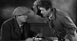 Victor McLaglen and Wallace Ford in The Informer (1935)