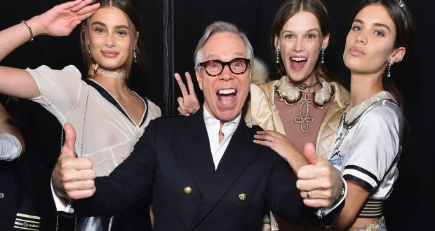 Gigi Hadid Tommy Hilfiger Fashion Show NY 20 SAWFIRST