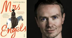 Gavin McCrea: Because Lizzie was illiterate, the only way to learn about her is through the letters of Marx and Engels and the biographies of Marx and Engels. There's a shining light and then a dark centre. But I didn't want these historical figures taking over the show and that meant taking out whole scenes I had written.