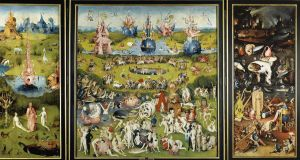 Spectacular, disturbing: 'The Garden of Earthly Delights' by Hieronymus Bosch, in the Museo Del Prado, Madrid, is Mealy's favourite painting