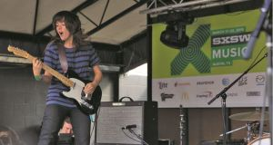 Courtney Barnett playing at South By Southwest 2015