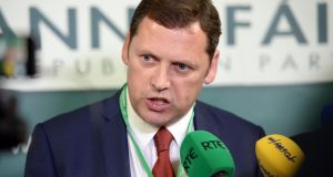 The Government has 'claimed credit for jobs they did not create', says Fianna Fáil TD Barry Cowen. Photograph: Eric Luke / The Irish Times
