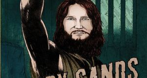 A new graphic novel 'Bobby Sands Freedom Fighter' has been accused of 'sending out a message that somehow terrorism is appropriate'.
