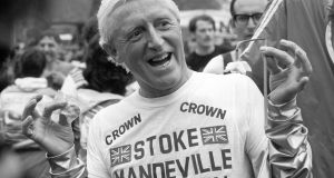 "File photograph of Jimmy Savile in 1981. Dame Janet Smith's review found there was a culture of ""reverence and fear"" towards celebrities at the BBC. Photograph: PA Wire"