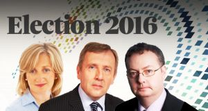 Fine Gael's Aine Collins and Michael Creed, and Fianna Fáil's Michael Moynihan.