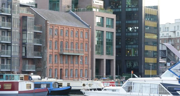 Dublin office rents close to peak levels