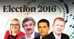Labour's Ciara Conway, Independent John Halligan, and John Deasy and Paudie Coffey of Fine Gael.