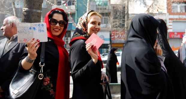 Millions Vote In Iran Poll Set To Shape Post Sanctions Era