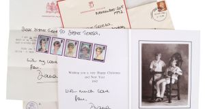 Some of the correspondence from Diana, Princess of Wales, to Sr Teresa of the Little Sisters of the Assumption