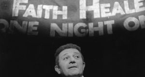 Donal McCann as Frank Hardy in the Abbey Theatre's Irish premiere of Faith Healer in 1980. Photograph: Fergus Bourke, courtesy of the Abbey Theatre