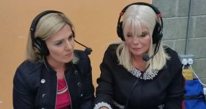 Mary Mitchell O'Connor of Fine Gael and her running mate Maria Bailey have almost 12,000 votes each. Photograph: Mary Minihan