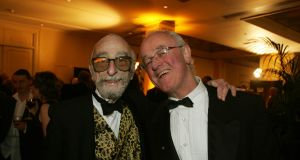 Actors David Kelly and Frank Kelly Photograph: Aidan Crawley