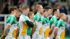 Offaly held on for a crucial win over Sligo on Sunday. Photograph: Cathal Noonan/Inpho
