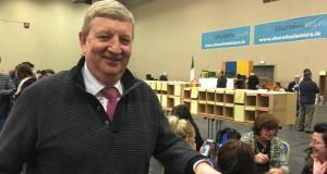 Fianna Fáil's Cllr Pat Casey has taken  a seat for the party in Wicklow. Photograph: Carl O'Brien.