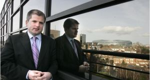 Dermot O'Leary, Goodbody stockbrokers. Photograph: Dara Mac Dónaill