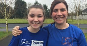 Sarah and her daughter, Aoife: Inspired by her mum, Aoife has now decided to follow in her footsteps with the Get Running Beginners Programme.