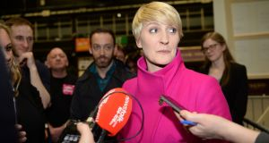 Independent candidate Averil Power has been eliminated from the race for a Dáil seat in Dublin Bay North. Photograph: Eric Luke/The Irish Times.