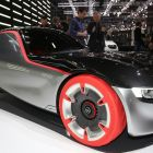 Opel's GT concept: a glimpse at the future with a nod to the past, in keeping with the overall show