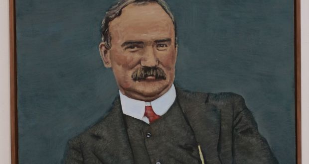 Portrait of James Connolly by Mick O'Dea