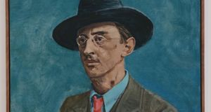 Portrait of Joseph Plunkett by Mick O'Dea