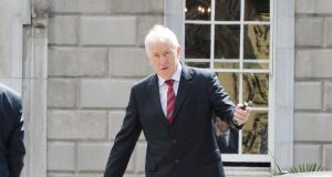 Jimmy Deenihan was appointed Ireland's first ever Minister of State for Diaspora Affairs in 2014. Photograph: Alan Betson / The Irish Times