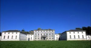 Strokestown Park House,  the new home of the clock