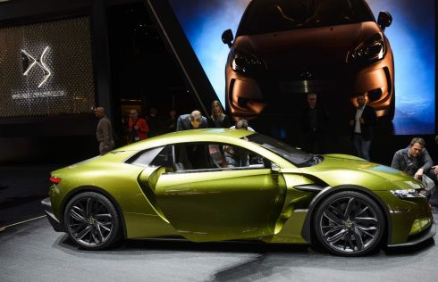 Eager to make its mark as a premium brand the Citroen spin-off DS showed off its E-Tense concept. No clue as to whether we will ever see anything remotely like it in production, but it's certainly one of the best concepts on the show floor.