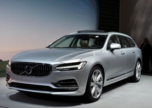 Another impressive new entry from Volvo. The Swedish car firm is really on a roll at present, with the XC90 SUV winning plaudits across the globe and now this estate version setting tongues wagging at the show.