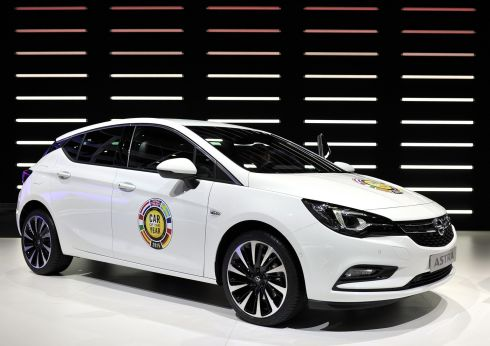 It was awards time at Opel where the new Astra was named Car of the Year for Europe 2016, much to the delight of Opel staff.