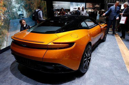 The new Aston Martin DB11 is a hit amongst the sports car fans.