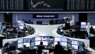 The euro zone's blue-chip Euro STOXX 50 index weakened by 0.3 per cent. The Stoxx Europe 600 Index slid 0.5 percent, falling for the first time in six days. Germany's DAX and the Cac 40 in France were both slightly lower